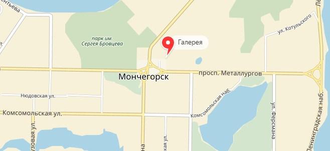 «1xbet». Мончегорск. Адреса на карте