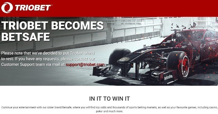 БК Триобет - обзор официального сайта