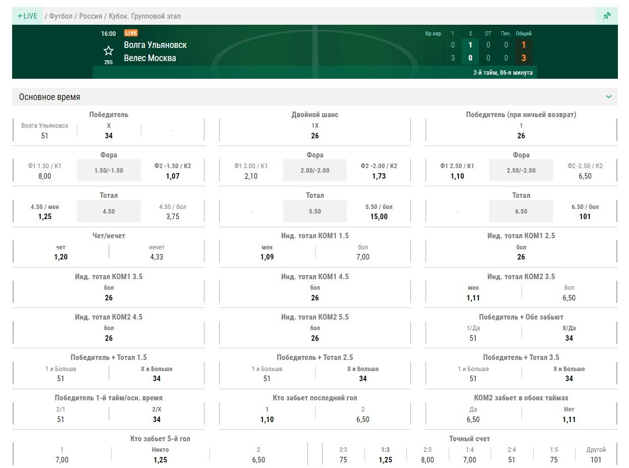 Онлайн роспись на футбол в лига ставок ру