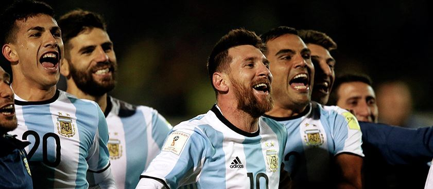 Сборная Аргентины ЧМ-2018