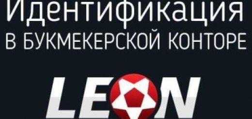 Как пройти идентификацию в «Леон», логотип