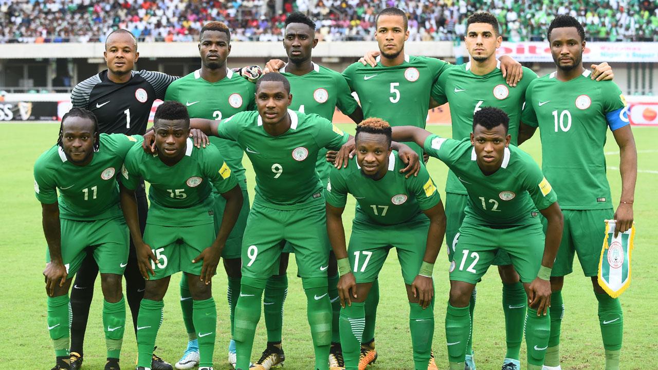 Команда Нигерии