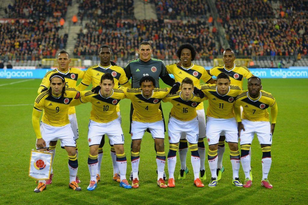 Команда Колумбии