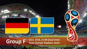 Германия - Швеция 23.06.2018 Прогноз и ставки на ЧМ 2018