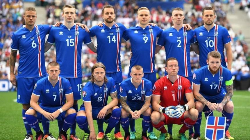 Команда Исландии