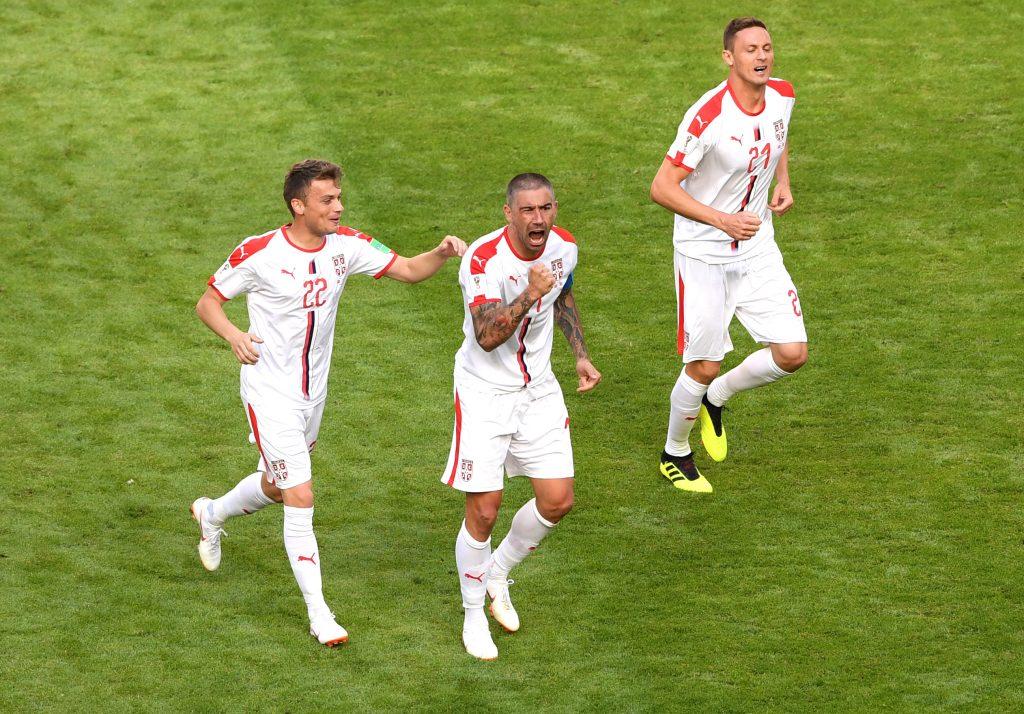 Команда Сербии