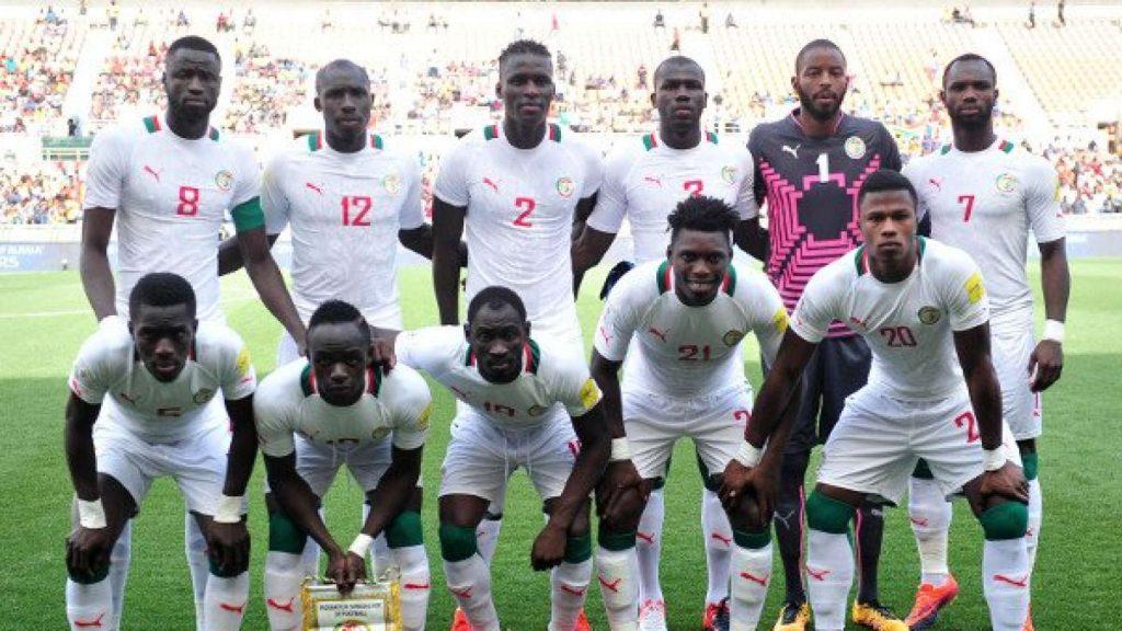 Команда Сенегала