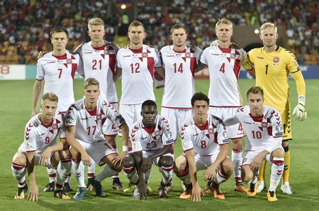 Команда Дании