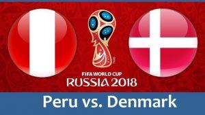Перу - Дания. 16.06.2018  Прогноз и ставки на ЧМ 2018