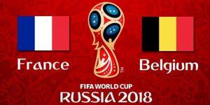 Франция - Бельгия Прогноз на матч 10 июля 2018. 1/2 финала ЧМ-2018