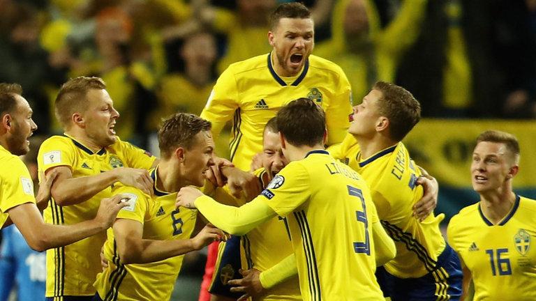 Команда Швеции