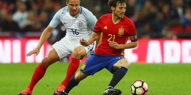 Англия- Испания