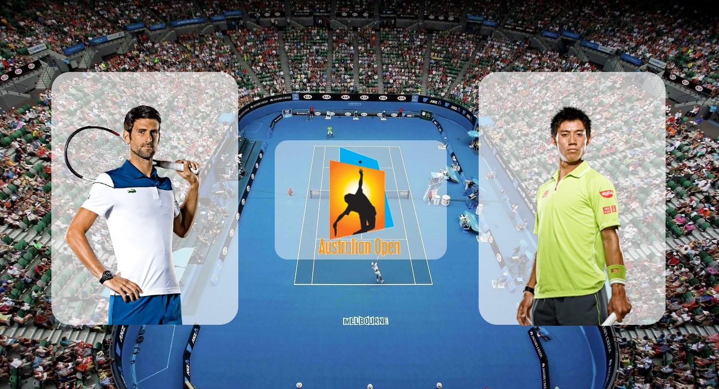Новак Джокович – Кэй Нисикори. Прогноз на матч Australian Open 23.01.2019