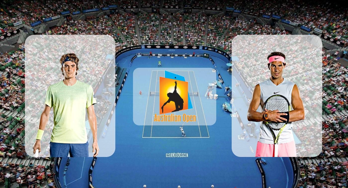 Стефанос Циципас – Рафаэль Надаль. Прогноз на матч Australian Open 24.01.2019