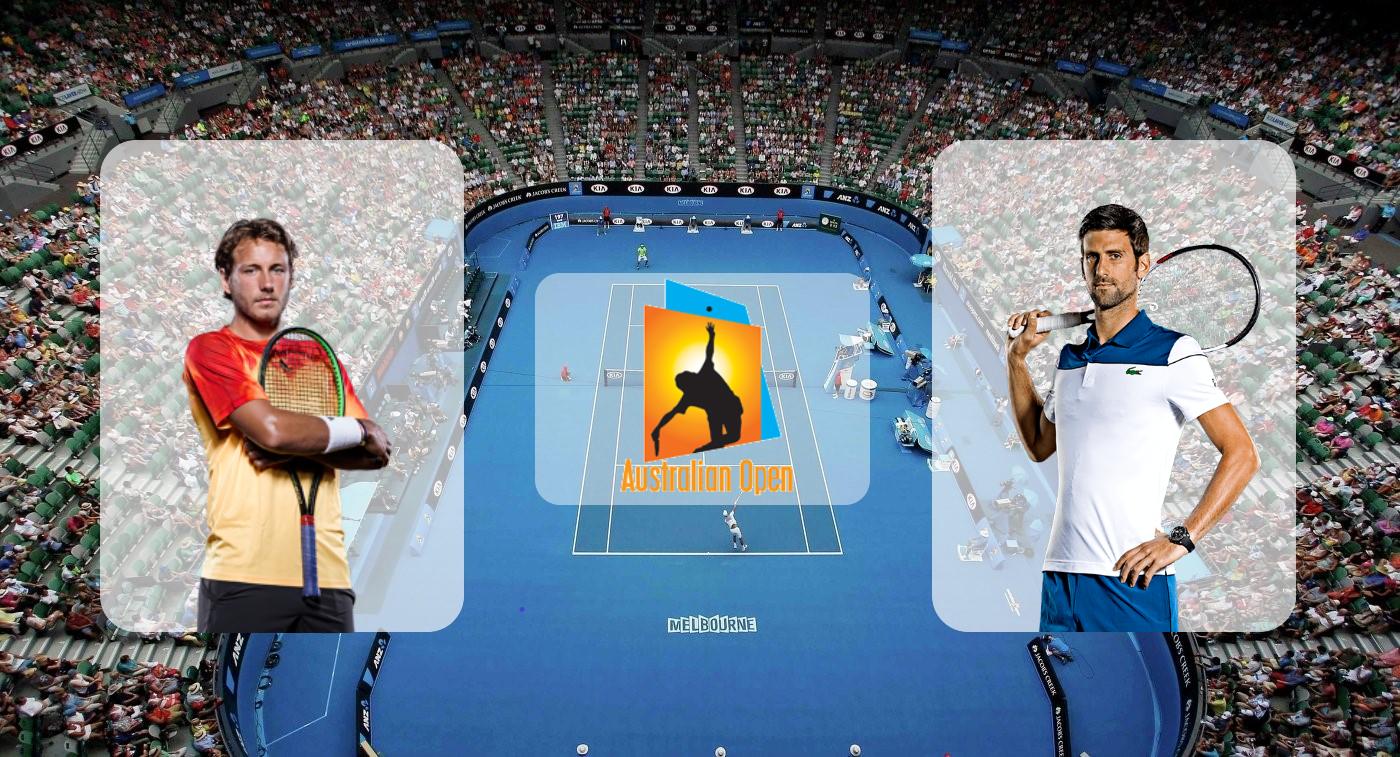 Новак Джокович – Люка Пуй. Прогноз на матч Australian Open 25.01.2019
