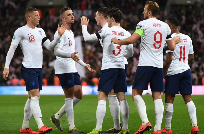 Сборная Англии по футболу 2019