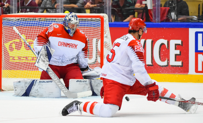 Сборная Дании по хоккею 2019