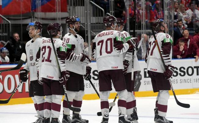 Сборная Латвии по хоккею на ЧМ-2019