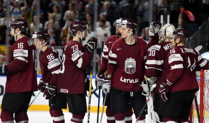 Сборная Латвии по хоккею 2019