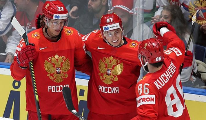 Сборная России по хоккею на ЧМ-2019