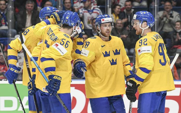 Сборная Швеции по хоккею на ЧМ-2019