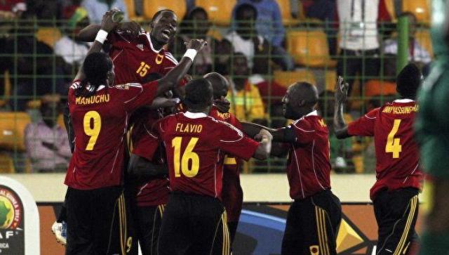 Сборная Анголы по футболы 2019