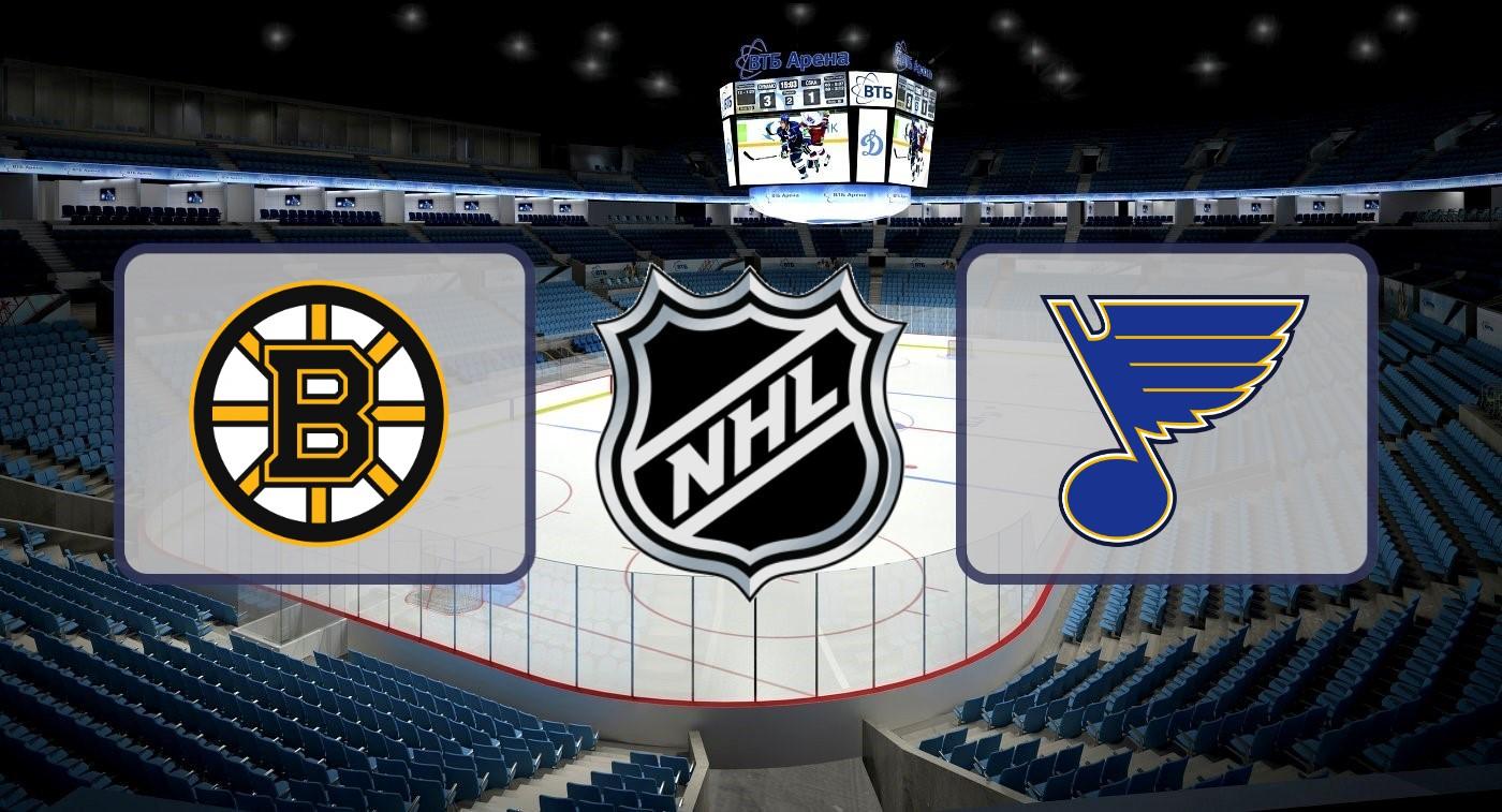 """Бостон"" – ""Сент-Луис"". Прогноз на финал НХЛ 13.06.2019"