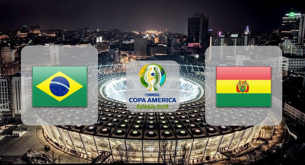 Бразилия – Боливия. Прогноз на матч Кубка Америки 15.06.2019