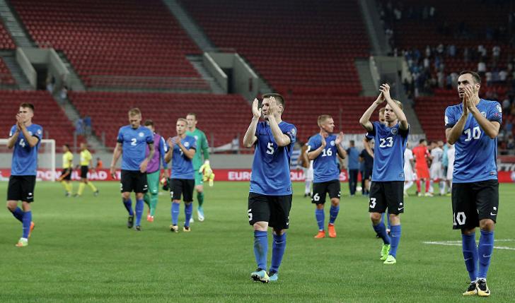 Сборная Эстонии по футболу 2019