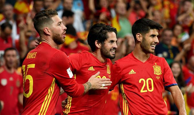 Сборная Испании по футболу 2019