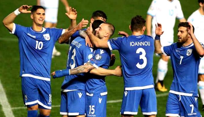 Сборная Кипра по футболу 2019
