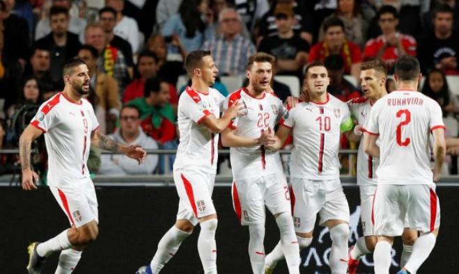 Сборная Сербии по футболу 2019