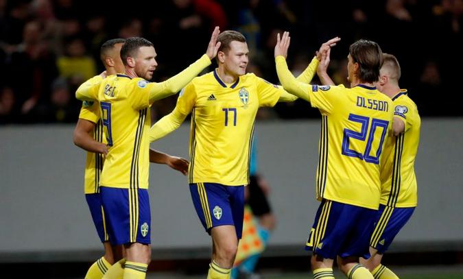 Сборная Швеции по футболу 2019