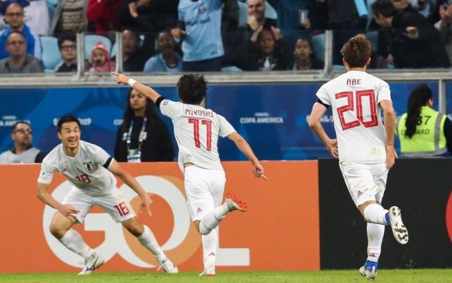 Сборная Японии по футболу 2019