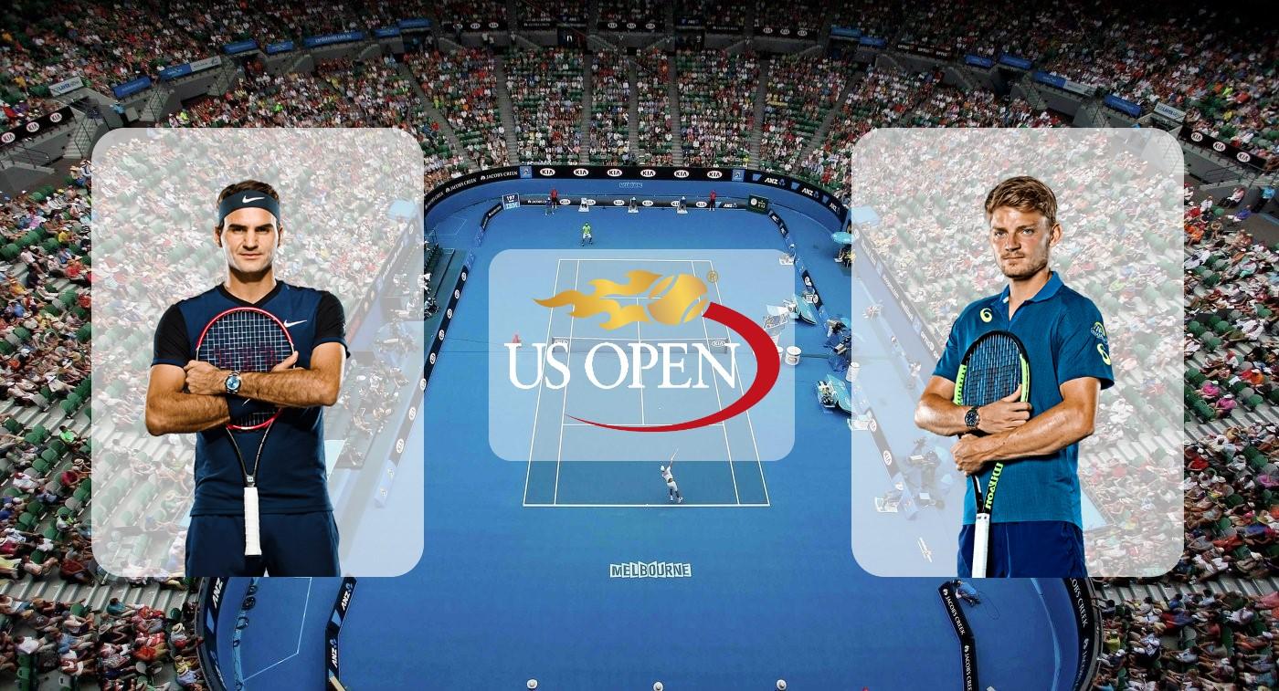 Роджер Федерер – Давид Гоффен. Прогноз на матч US Open 01.09.2019
