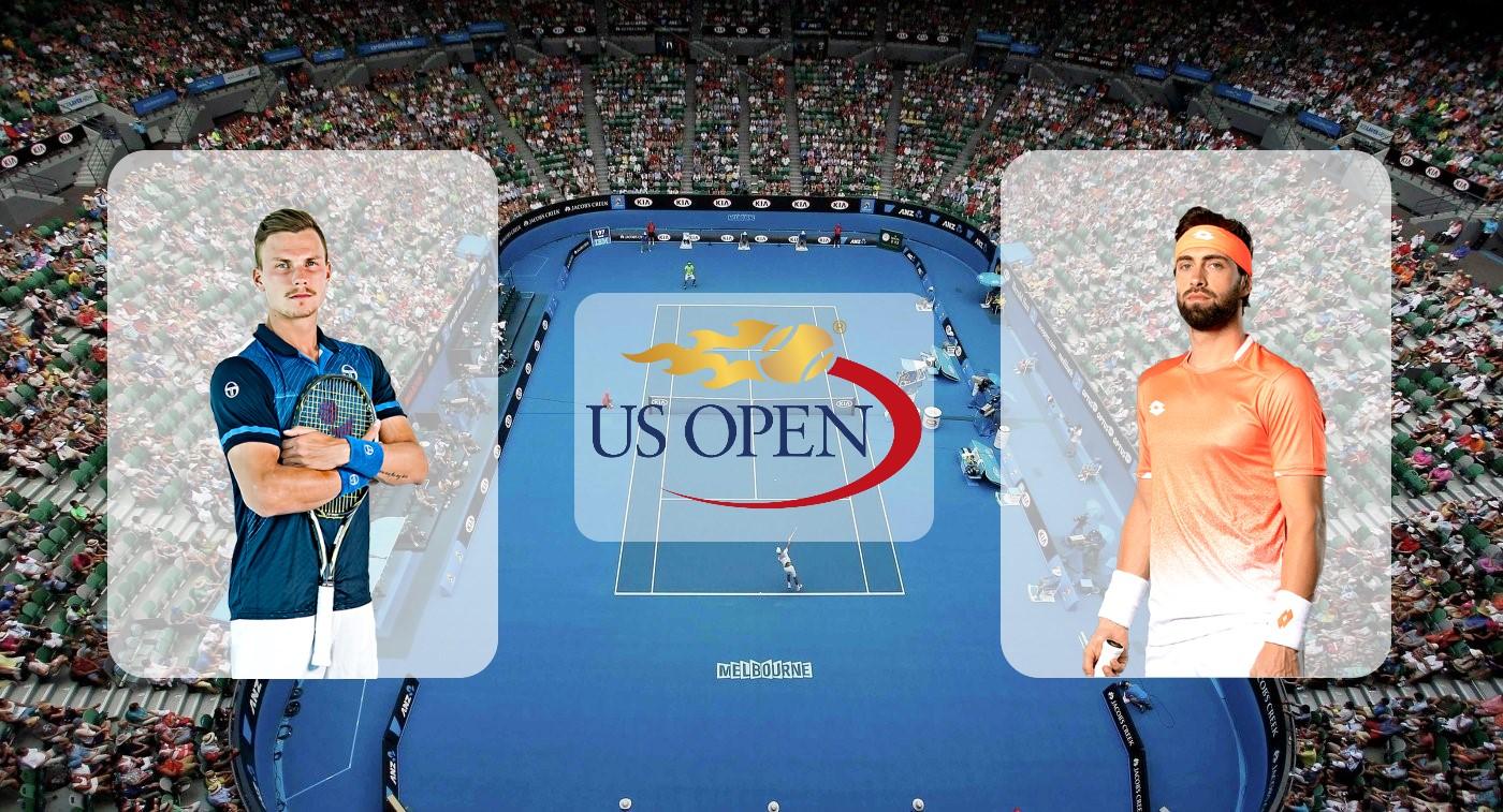 Мартон Фучович – Николоз Басилашвили. Прогноз на US Open 26.08.2019