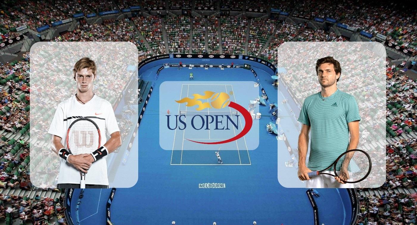 Андрей Рублёв – Жиль Симон. Прогноз на матч US Open 29.08.2019