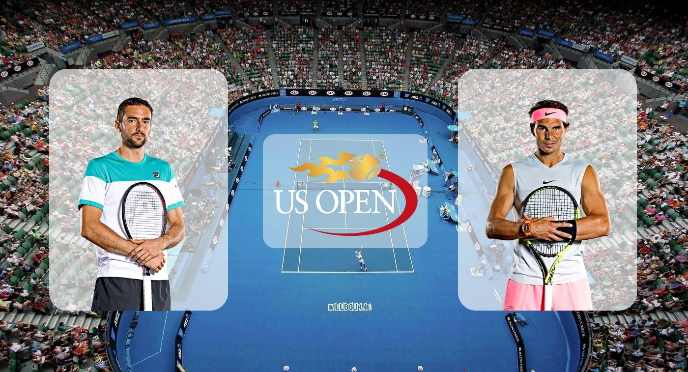 Марин Чилич – Рафаэль Надаль. Прогноз на матч US Open 02.09.2019