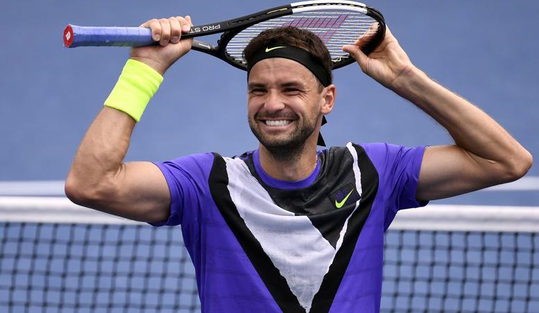 Григор Димитров. US Open-2019