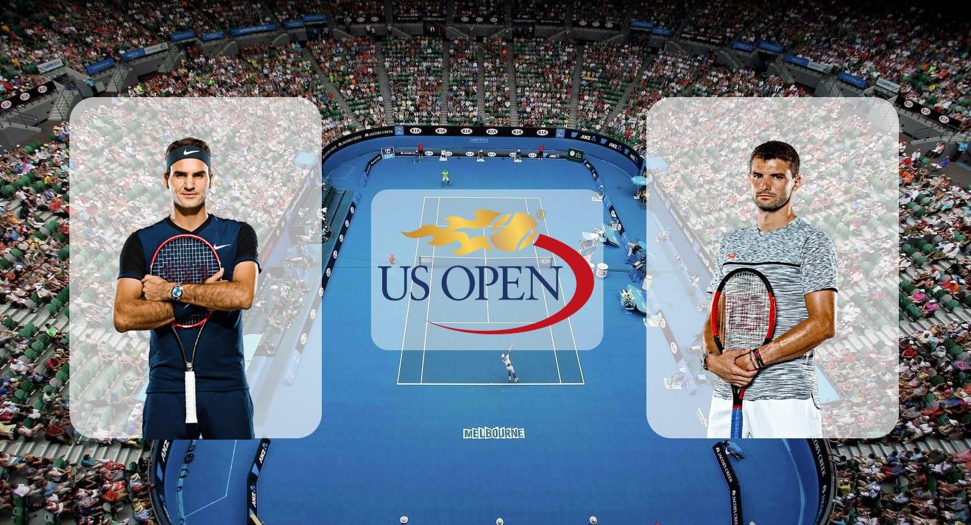 Роджер Федерер – Григор Димитров. Прогноз на матч US Open 03.09.2019
