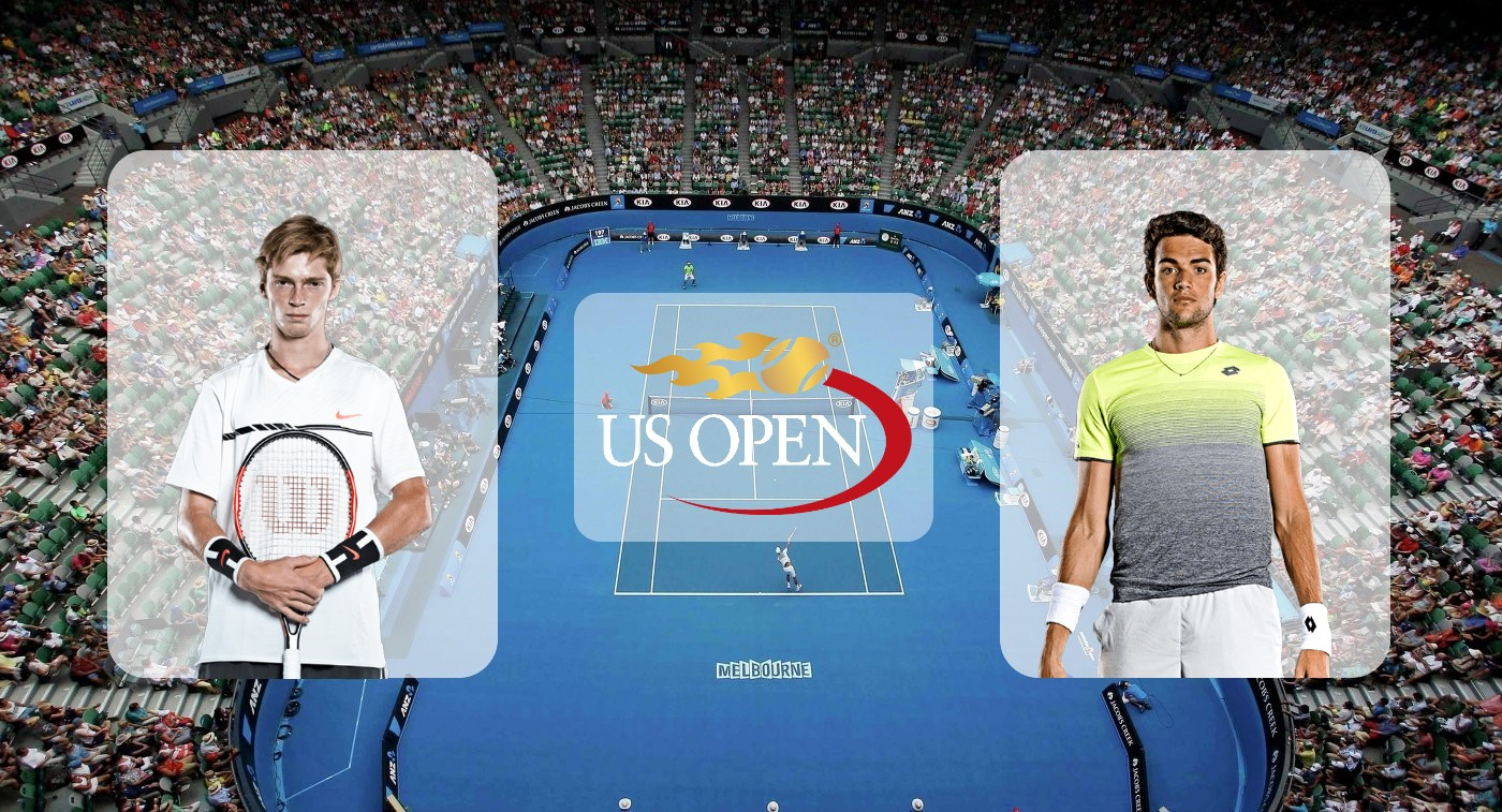 Андрей Рублёв – Маттео Берреттини. Прогноз на матч US Open 02.09.2019
