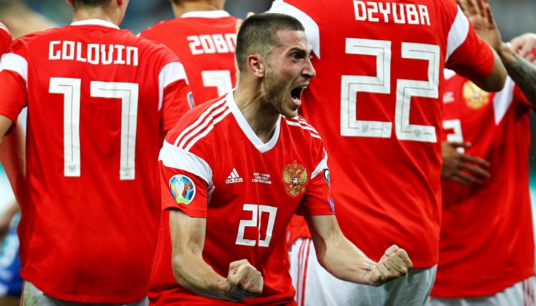 Сборная России по футболу. евро-2020