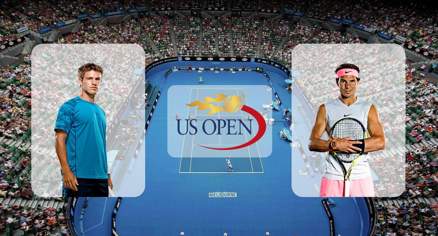 Диего Шварцман – Рафаэль Надаль. Прогноз на матч US Open 04.09.2019
