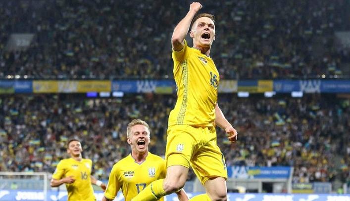 Сборная Украины по футболу 2019