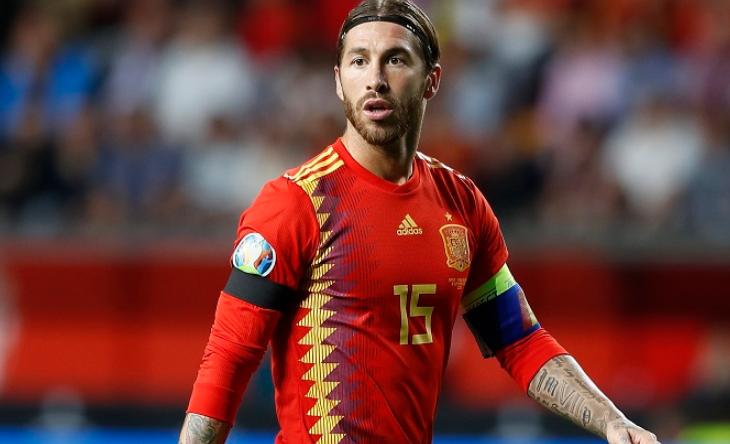 Сборная Испании по футболу 2019. Серхио Рамос