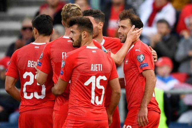 Сборная Швейцарии по футболу 2019
