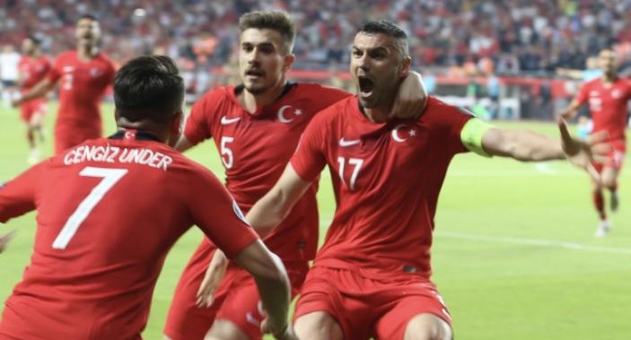 Сборная Турции по футболу 2019