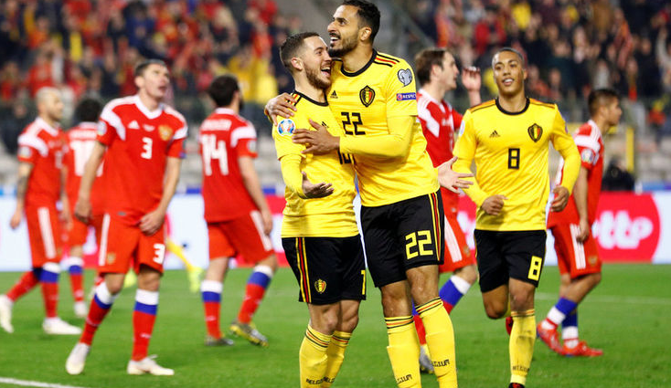 Сборная Бельгии по футболу - Евро-2020