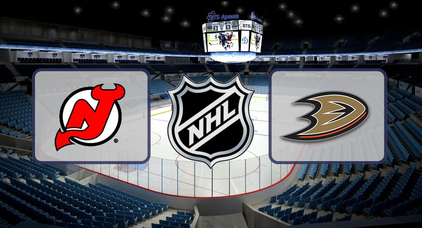 """Нью-Джерси"" – ""Анахайм"". Прогноз на матч НХЛ 19.12.2019"