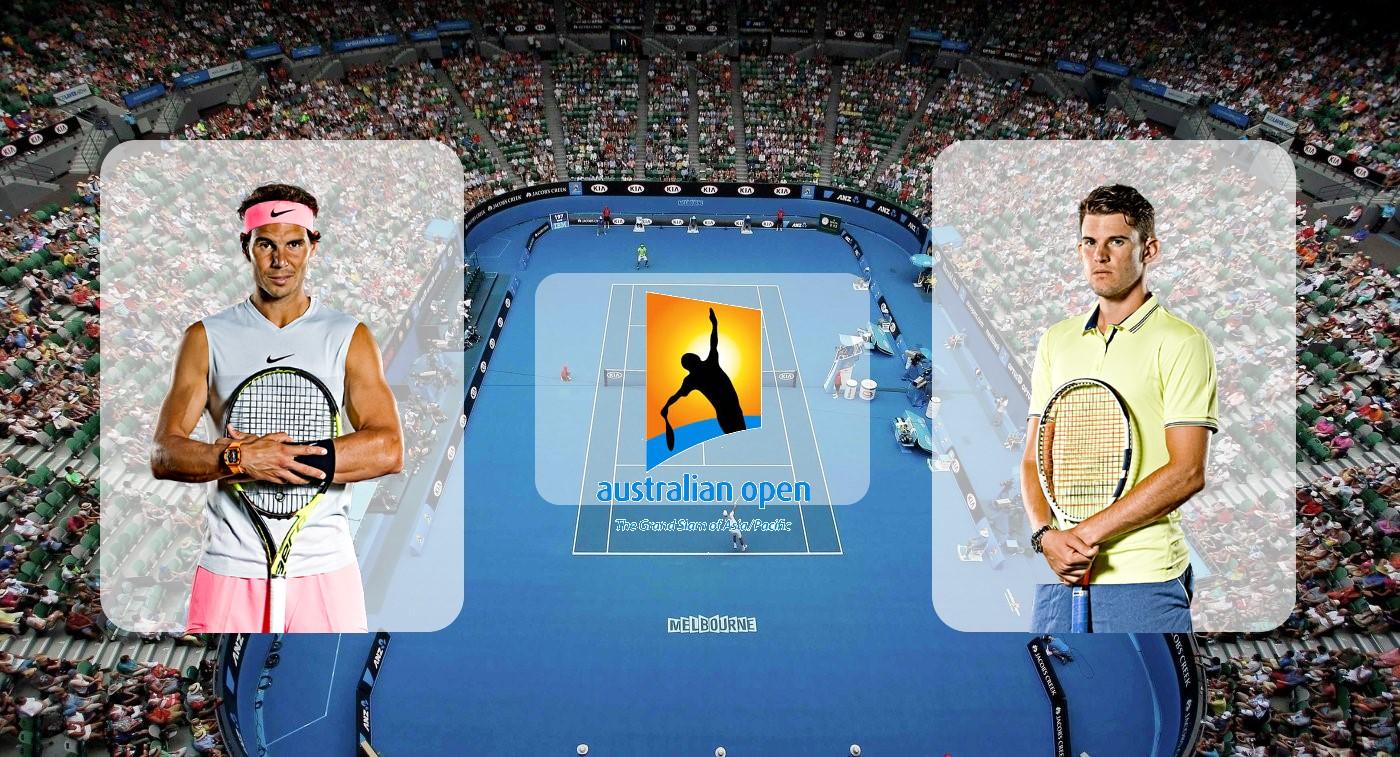 Рафаэль Надаль – Доминик Тим. Прогноз на матч Australian Open 29.01.2020